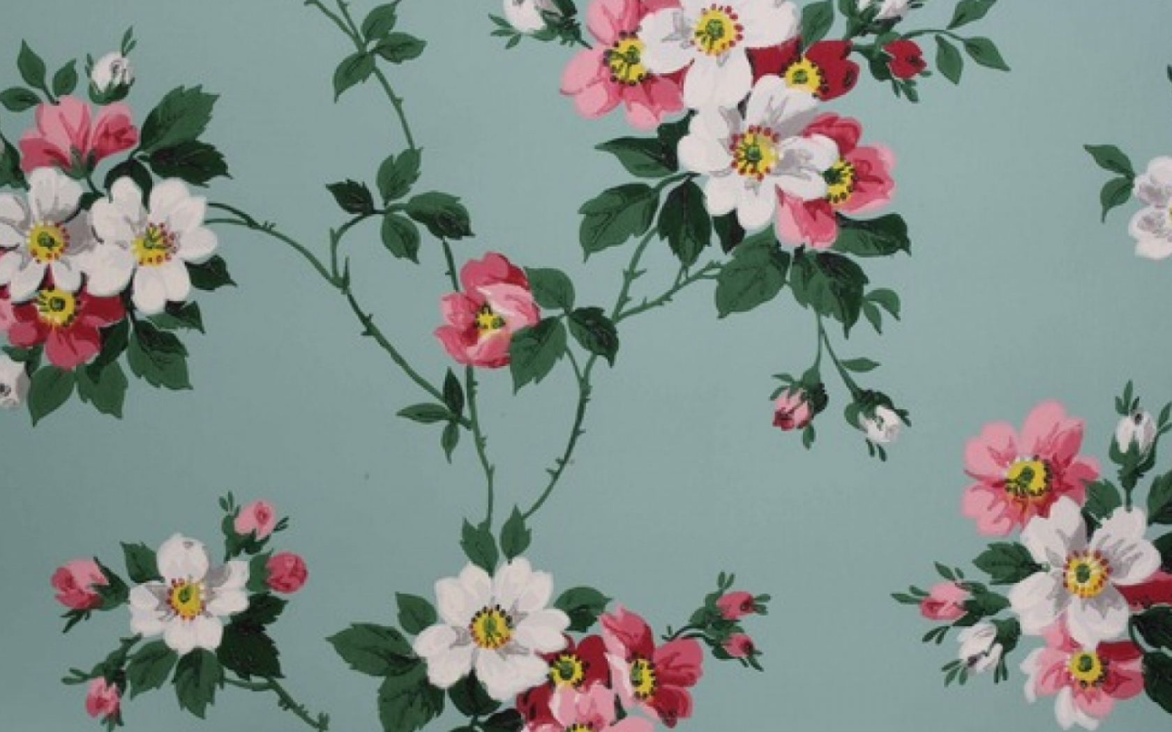 Free Download Vintage Flower Wallpaper Hd Desktop Wallpapers