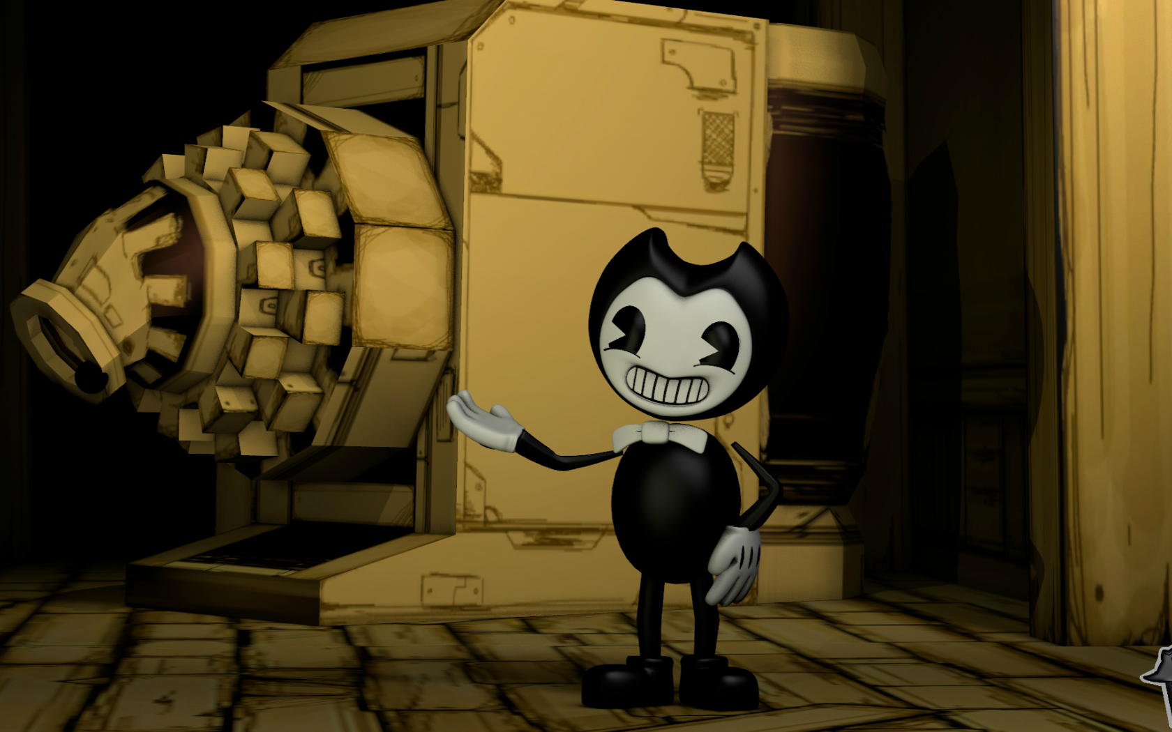 Free Download Bendy And The Ink Machine Full Hd Wallpaper And