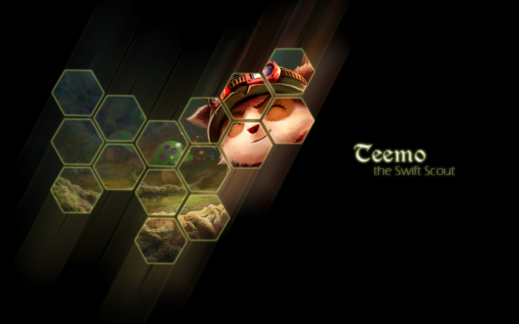 Free Download Teemo League Of Legends Game Hd Wallpaper 1920x1080