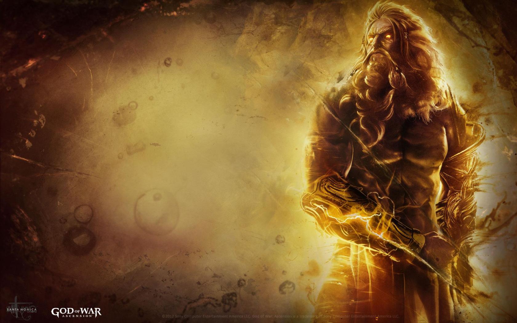 Free Download God Of War Ascension Wallpaper Zeus Select Game