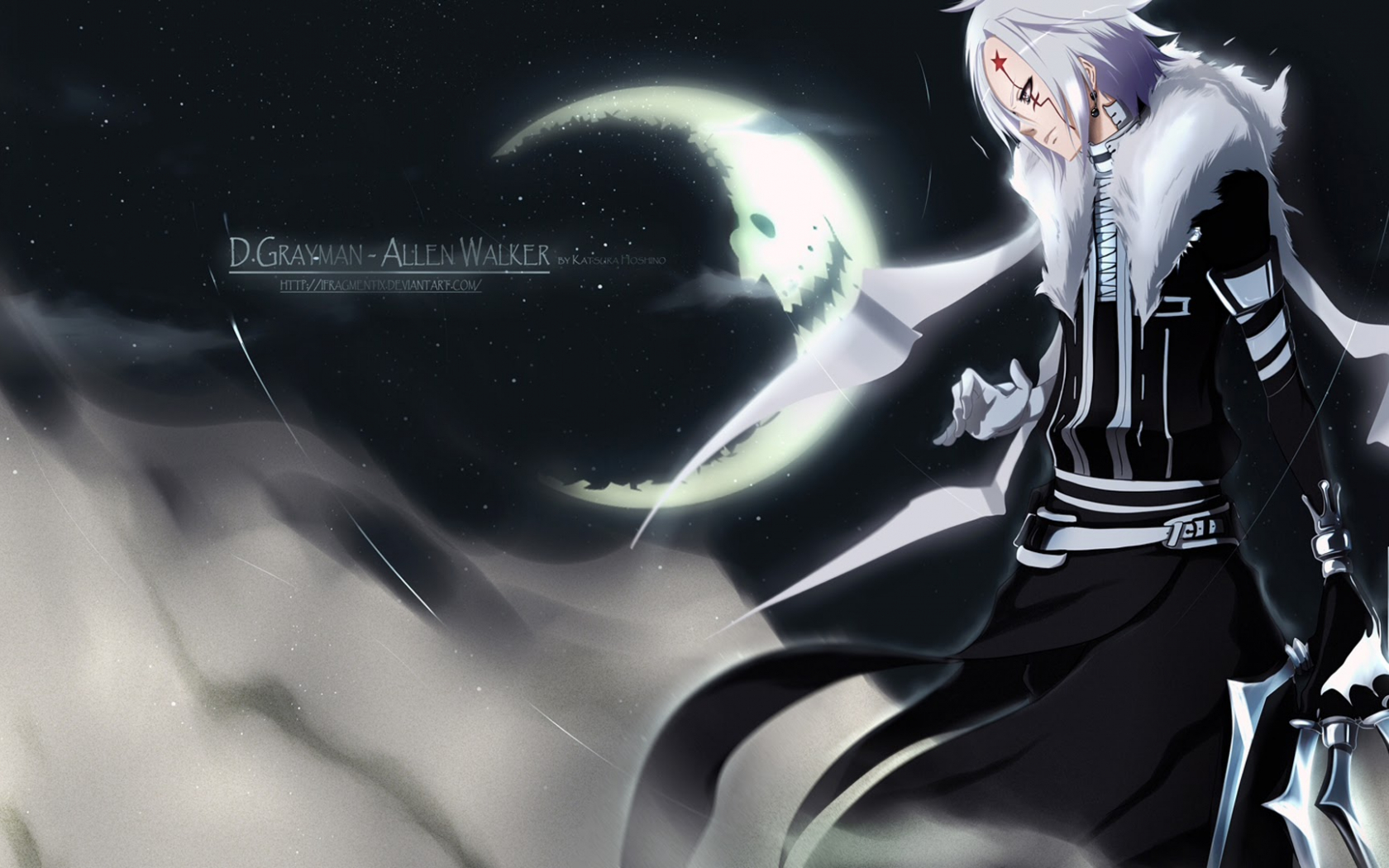 Free Download Allen Walker D Gray Man Hd Wallpaper Anime Deviant