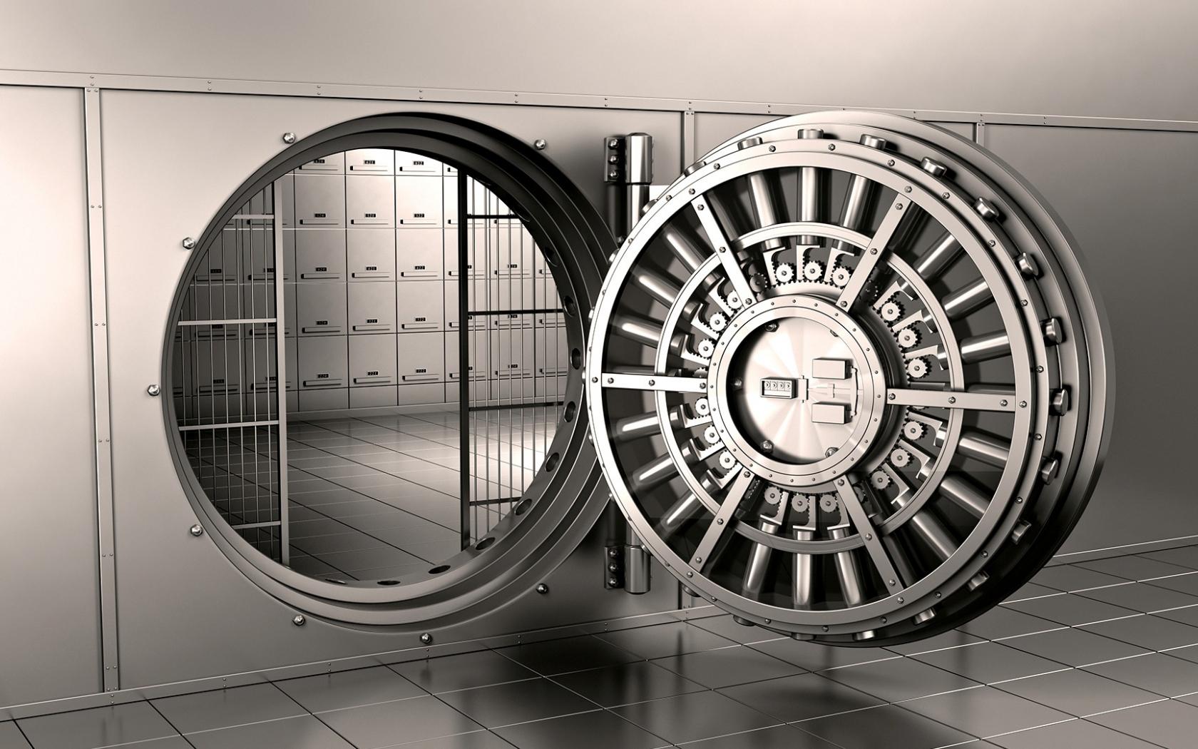 Bank Vault 3D Wallpaper HD [1920x1080