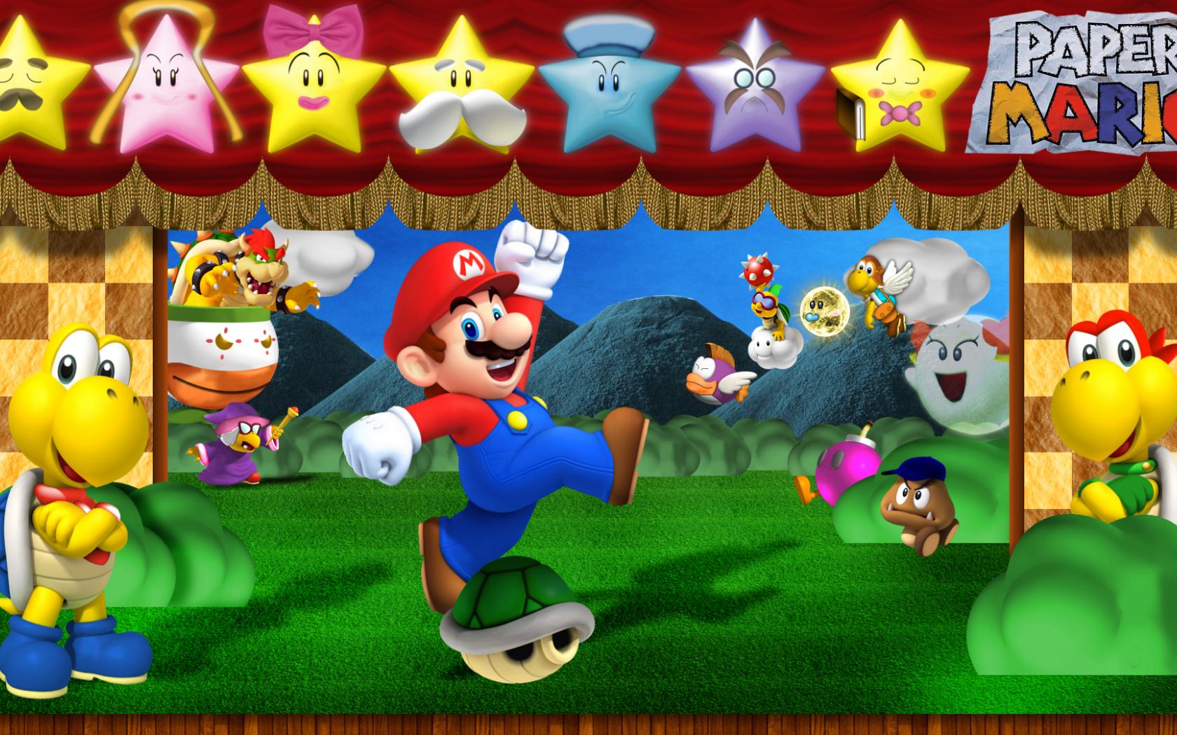 Free Download Paper Mario The Thousand Year Door Wallpaper Paper