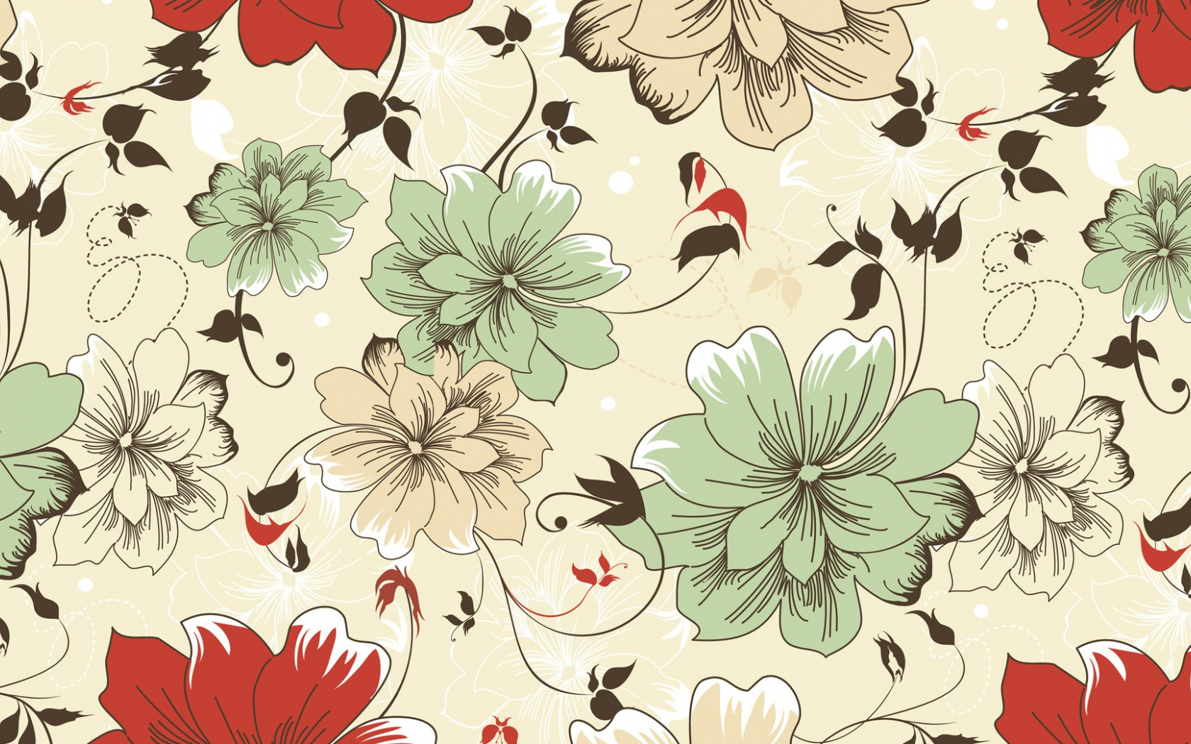 Free Download Patterns Floral Texture Wallpaper Background