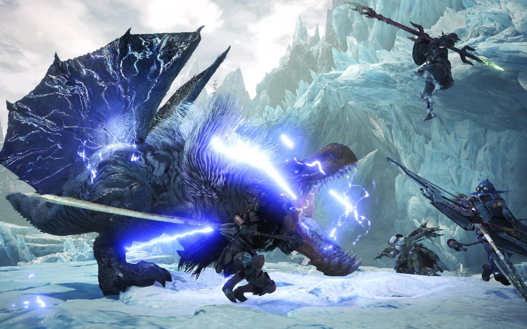 Free Download Monster Hunter World Iceborne Video Game Desktop