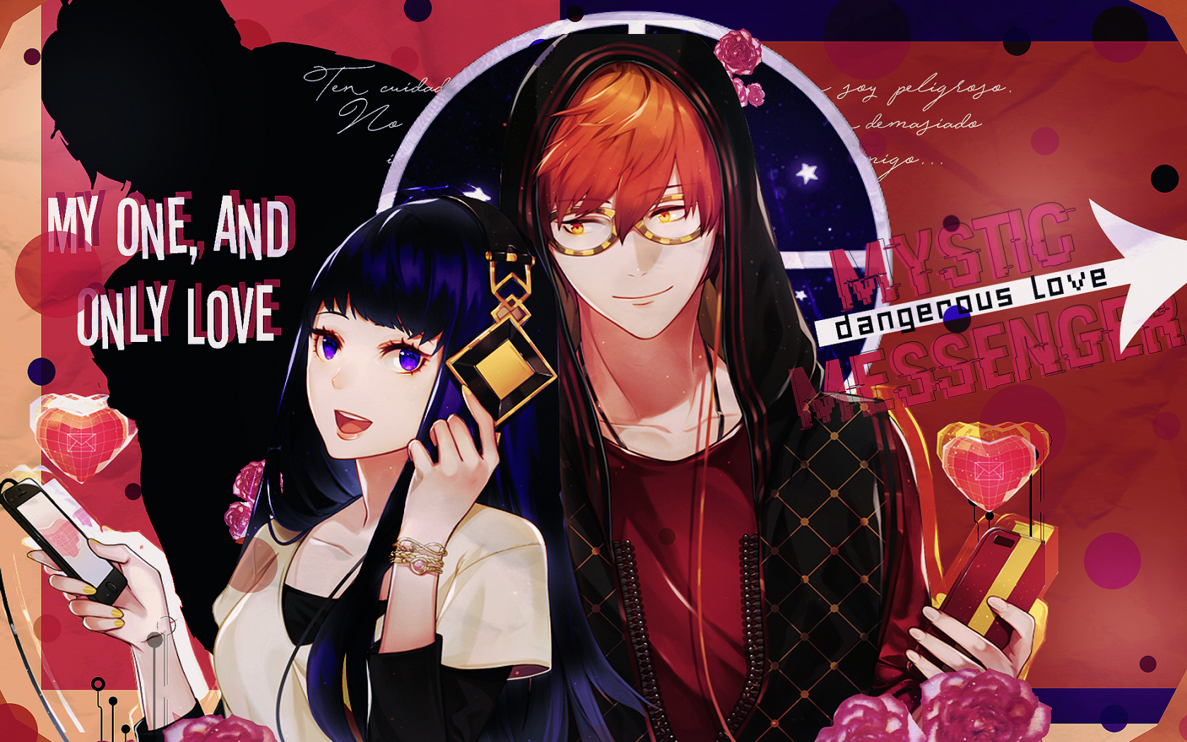 Free Download Mi One And Only Love Mystic Messenger Wallpaper