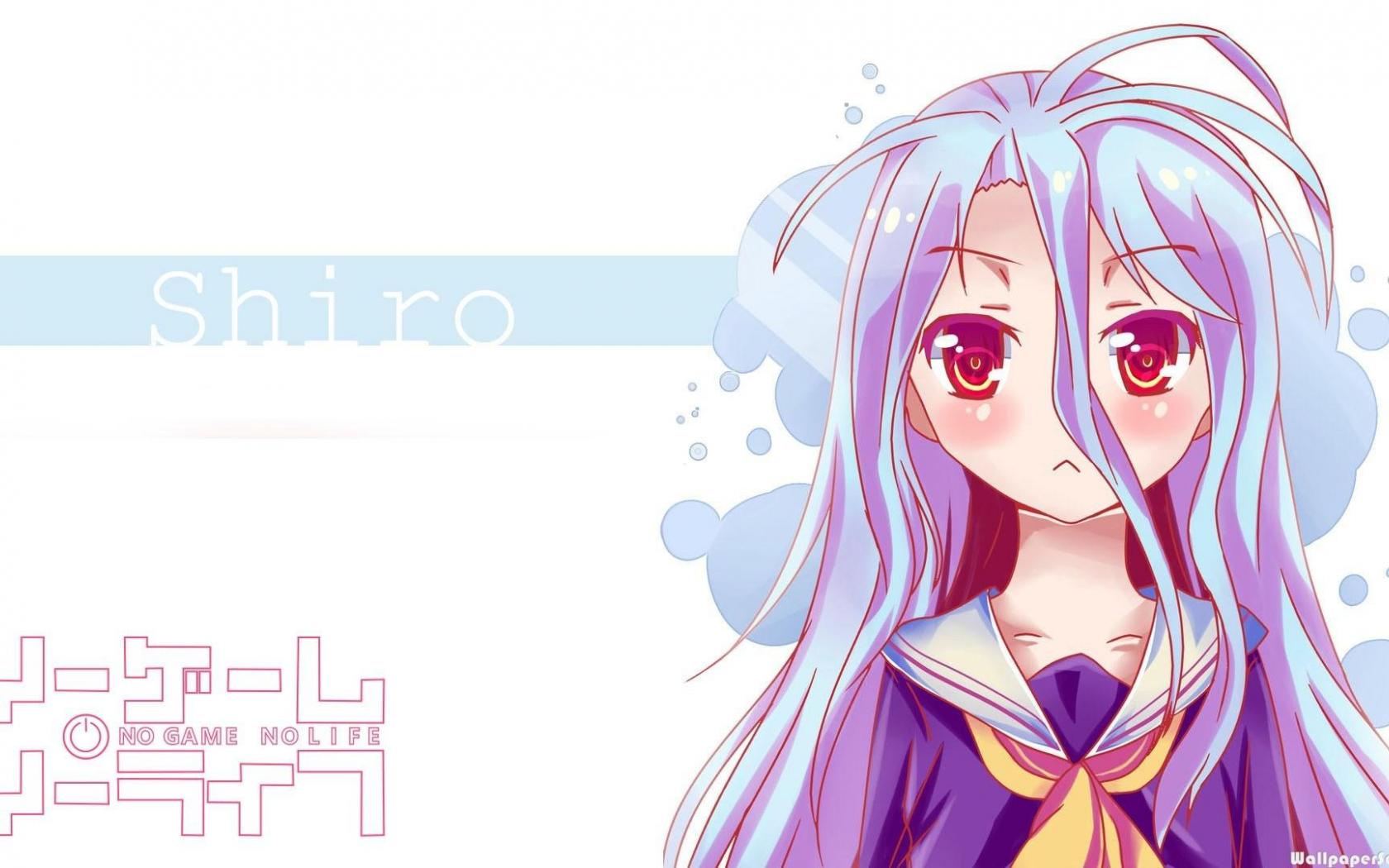 Free Download Hd Cute Girl Shiro No Game No Life Wallpaper