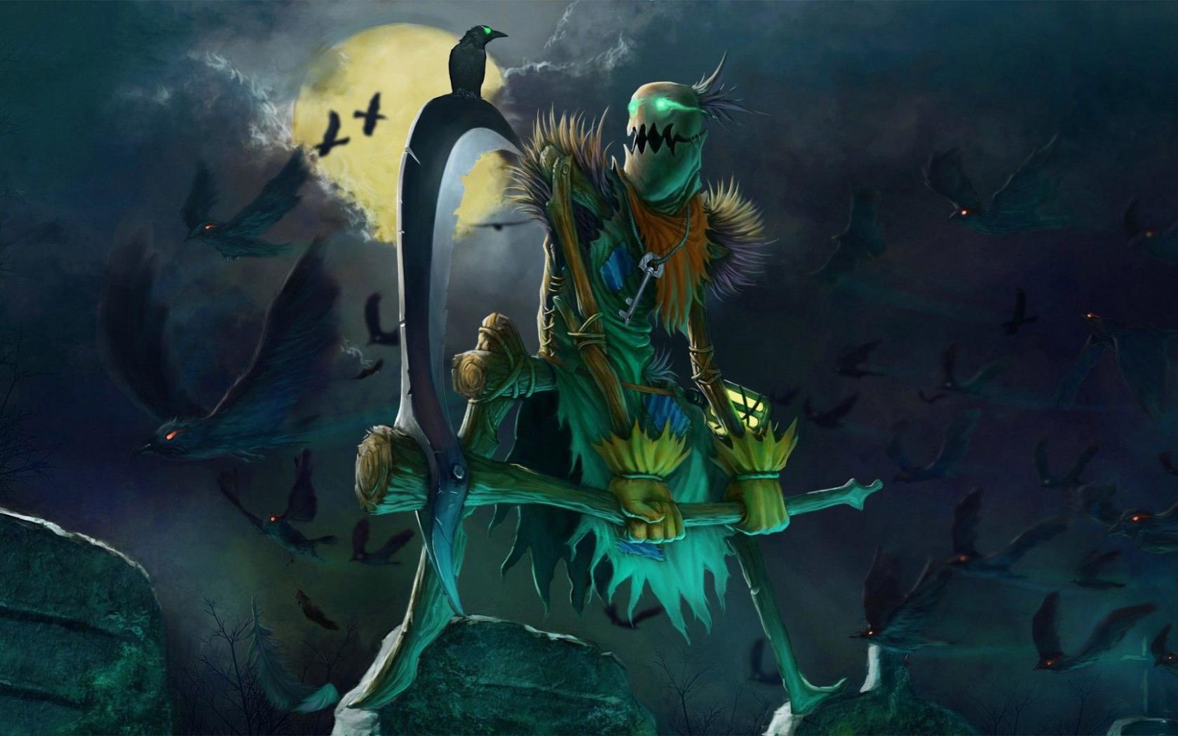 Free Download Fiddlesticks In League Of Legends Wallpaper