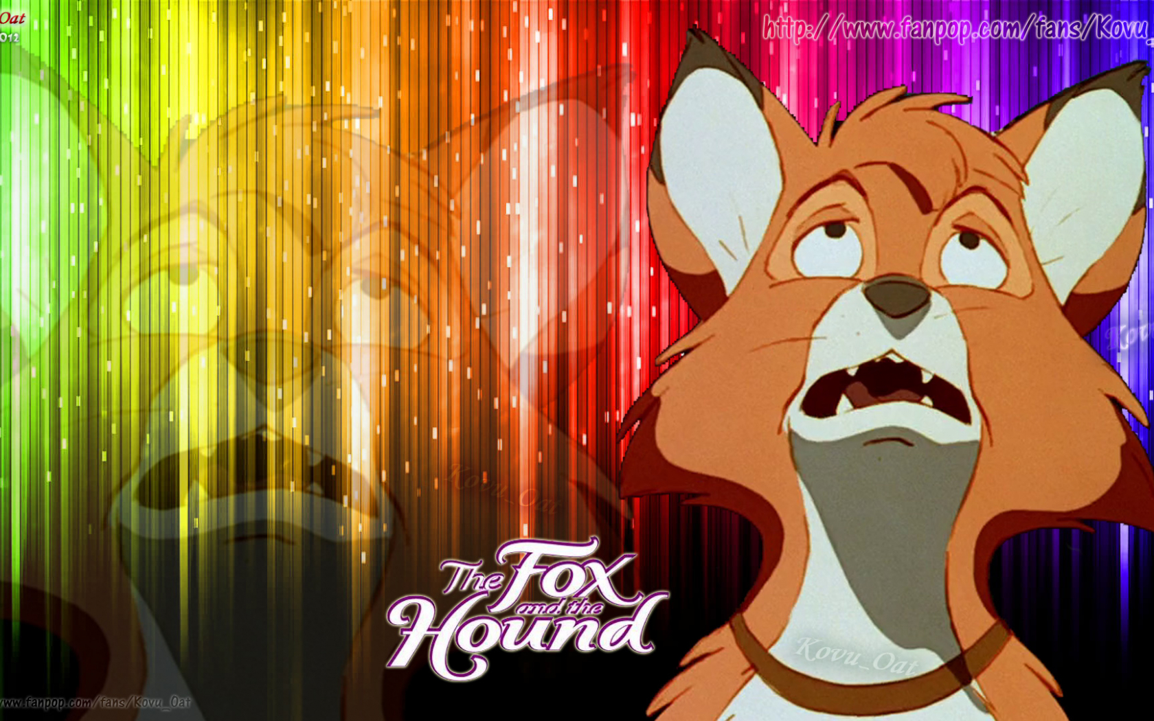 Free Download Tod From The Fox And The Hound Wallpaper Hd The Fox