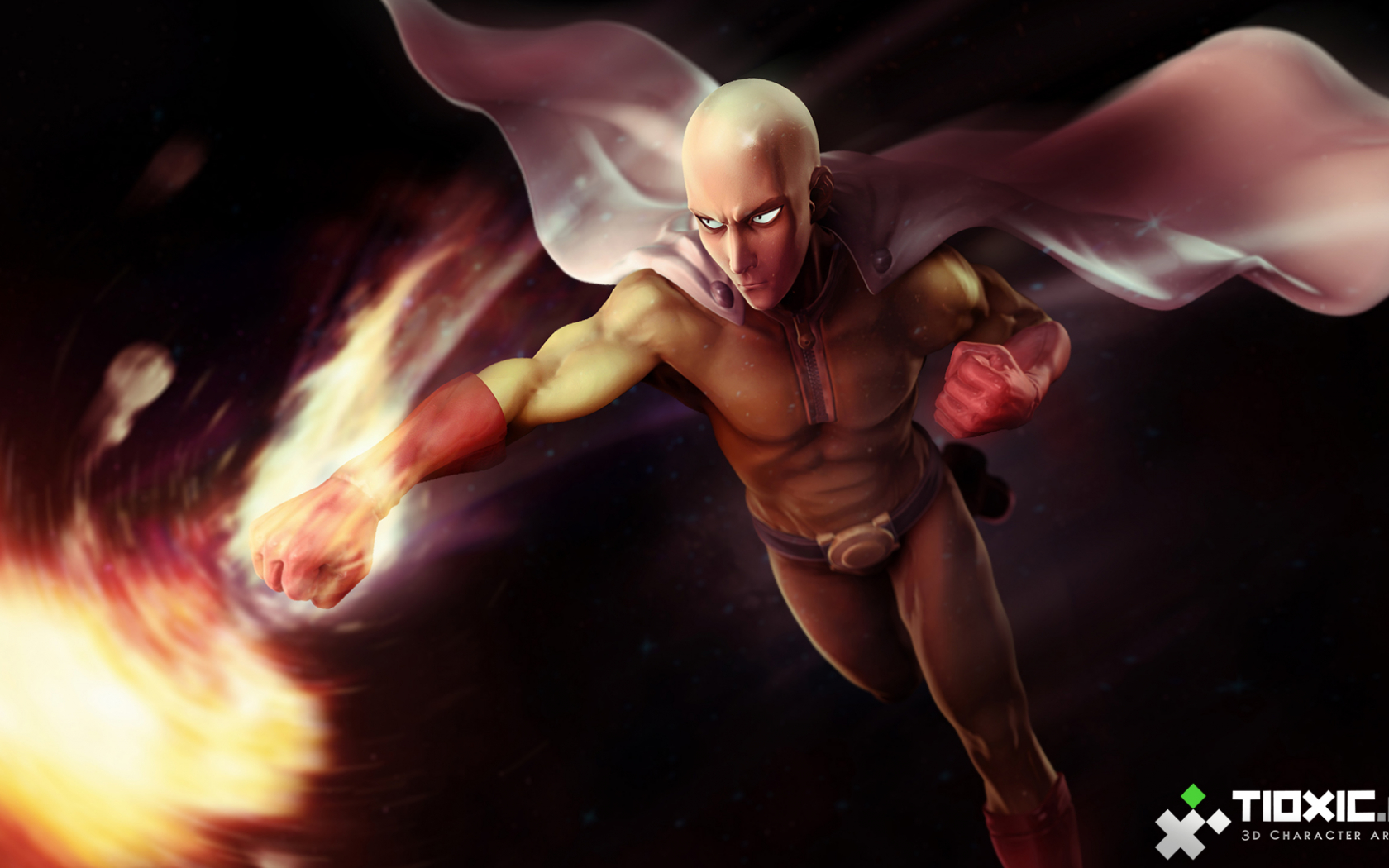 Free Download One Punch Man Hd Wallpaper 1920x1080 For Your