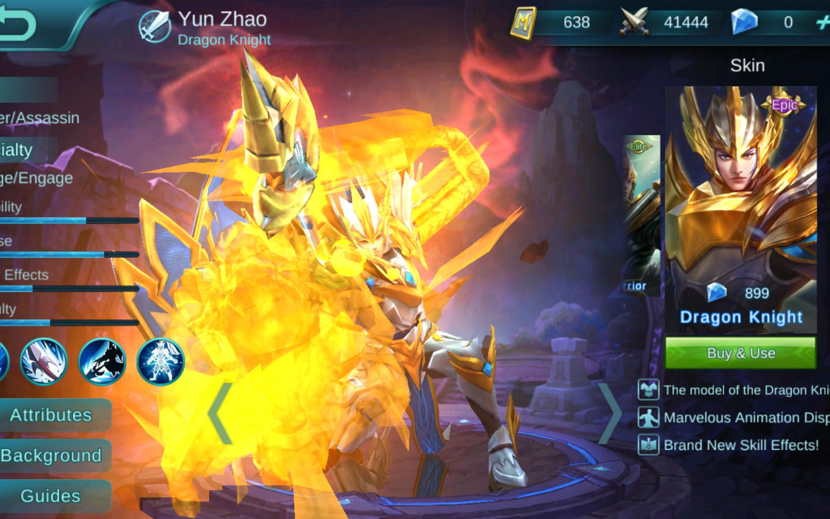 Free Mobile Legends Yun Zhao Zilong Guide Best Item