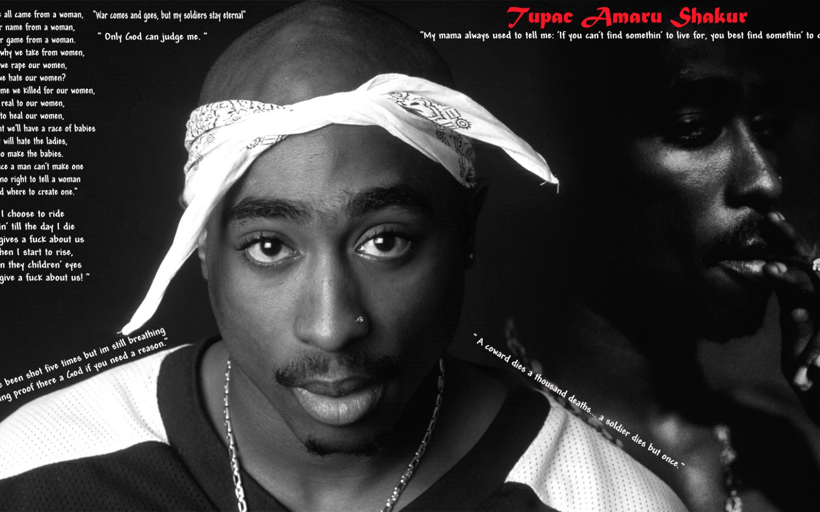 2pac Quotes Wallpaper QuotesGram 1920x1080 Download Resolutions Desktop