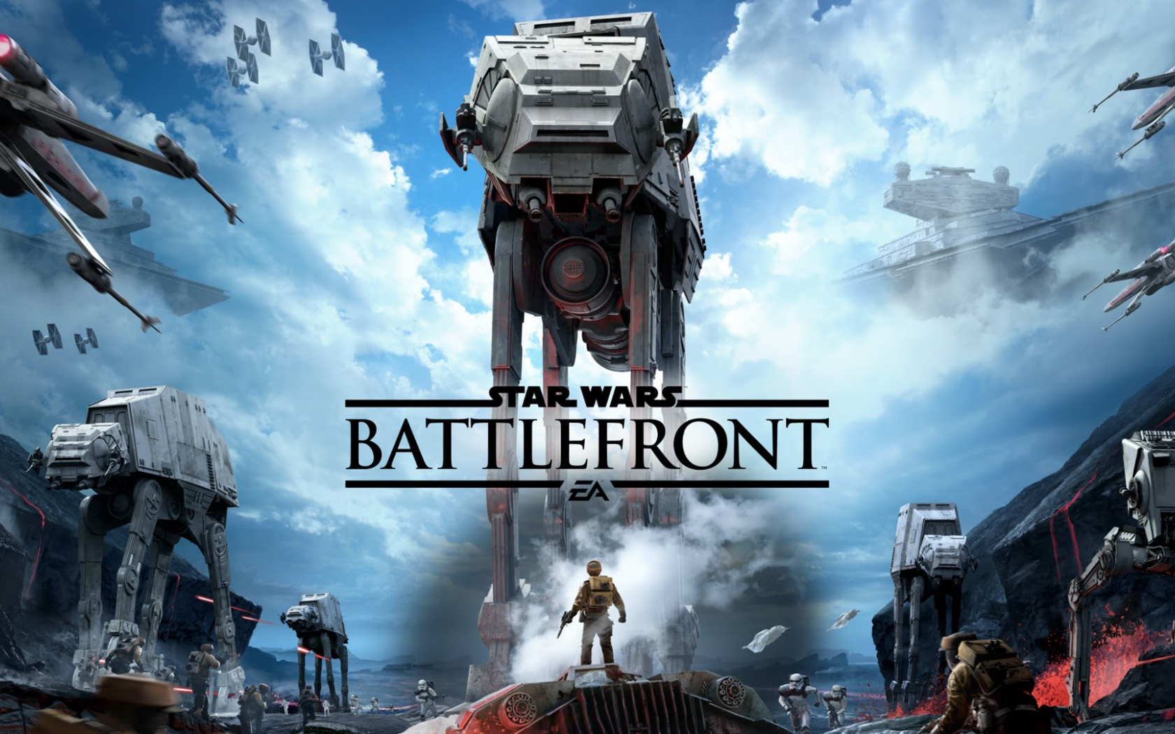 Free Download Home Games Hd Wallpapers Star Wars Battlefront Video