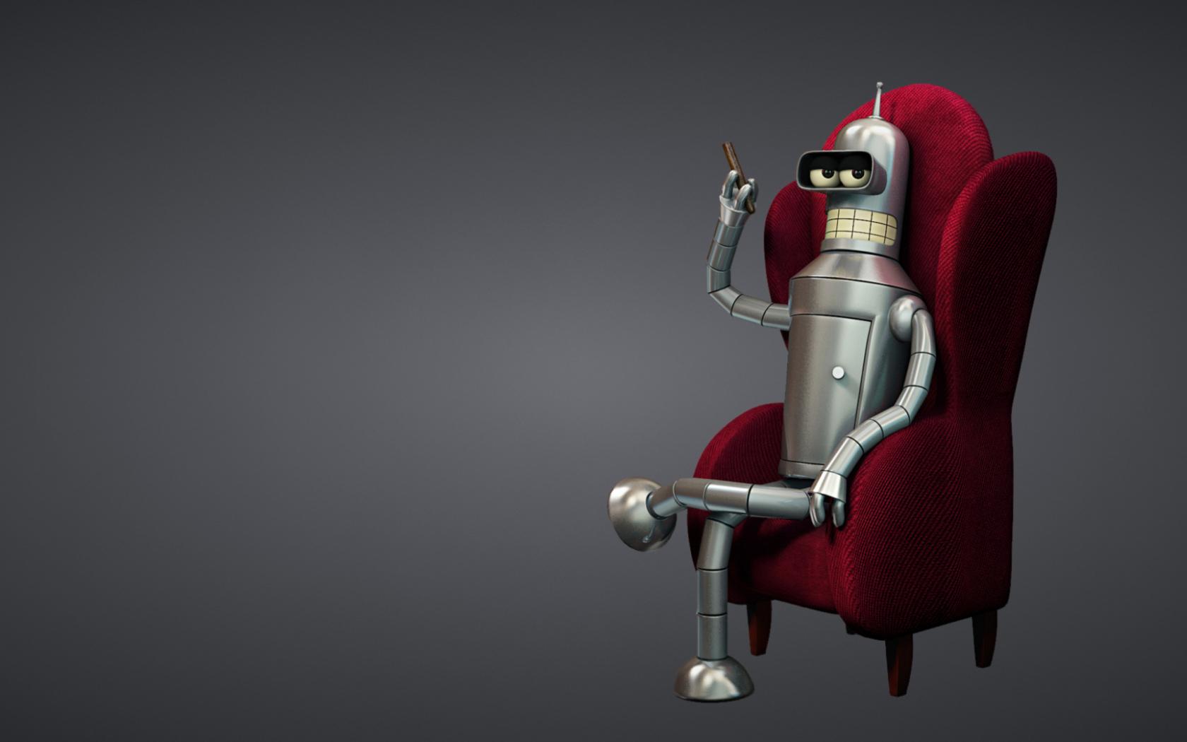 Free Download 3d Bender Futurama Sfondi Gratuiti Per Desktop