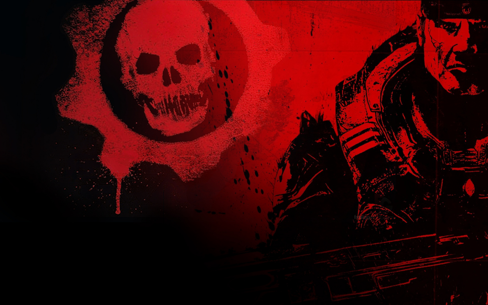 Free Download Gears Of War Logo Wallpaper 222365 1920x1080 For