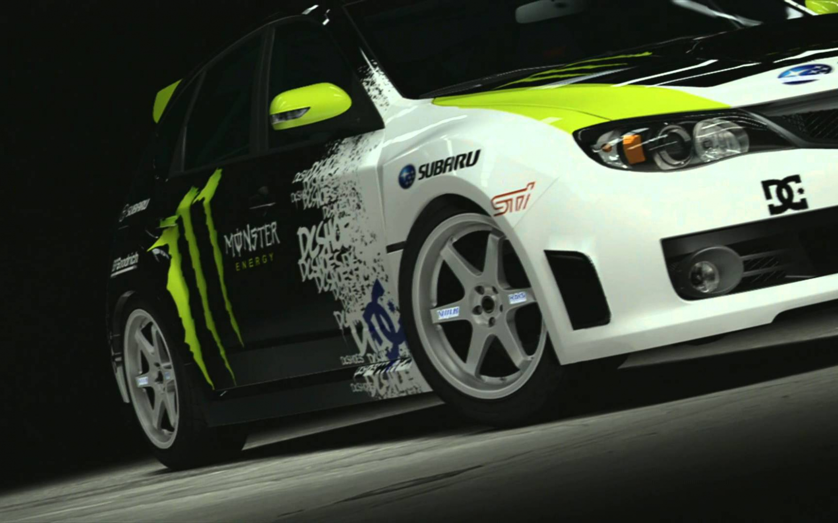 Free Download Subaru Impreza Wrx Sti Ken Block Gymkhana Car 1080p