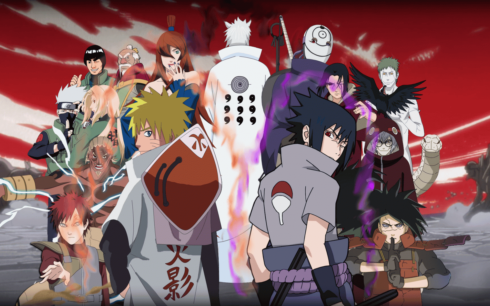 Simple Wallpaper Naruto Group - 8eAnHU  Collection_361213.png
