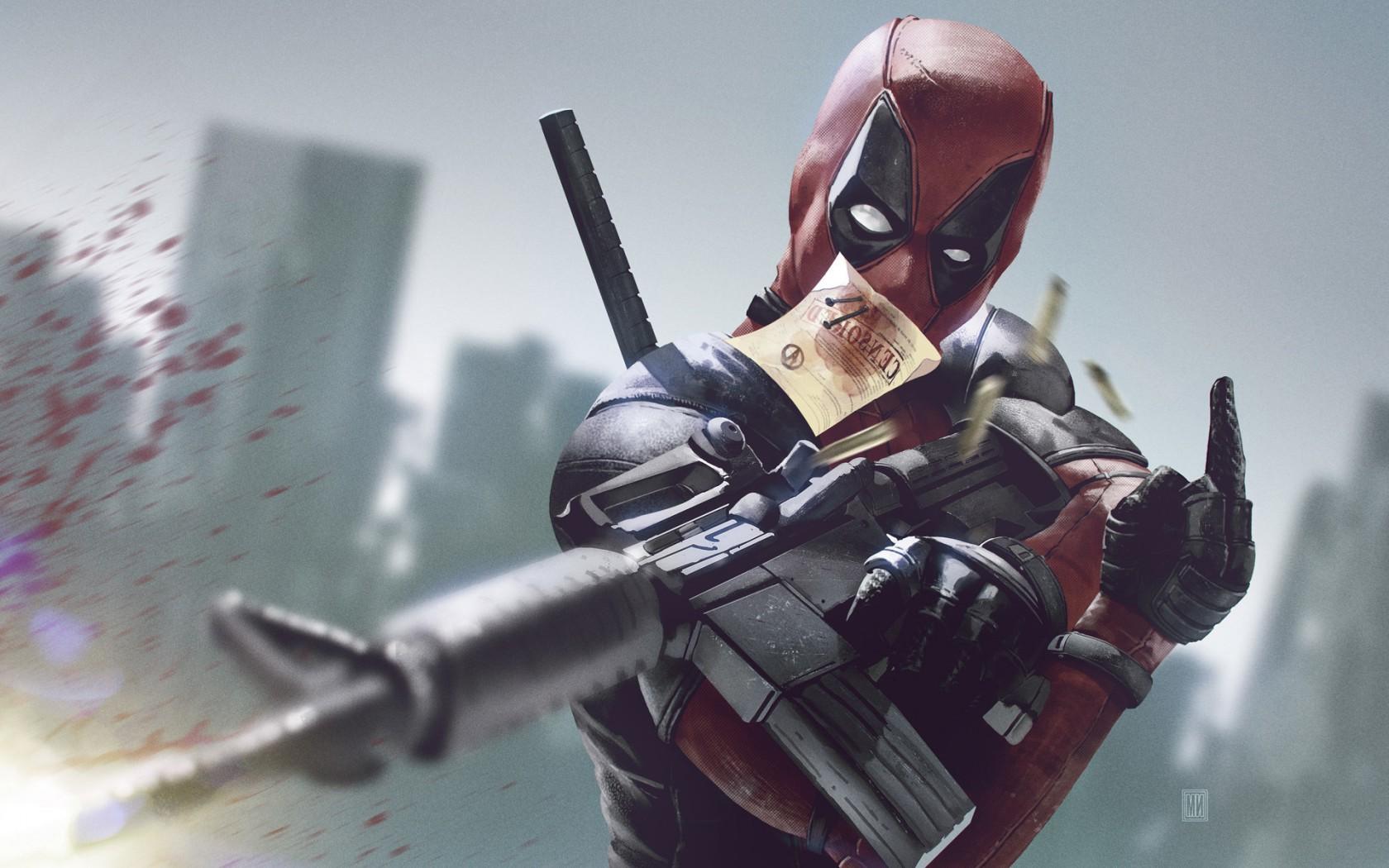 Deadpool Marvel Desktop Wallpaper