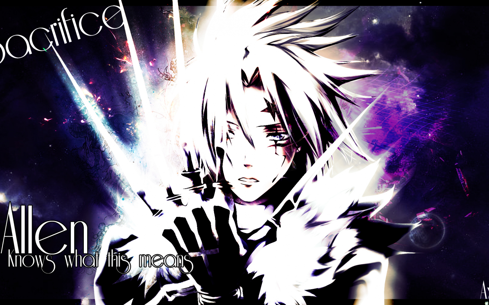 Free Download D Gray Man Wallpaper Allen Walker 13 Background