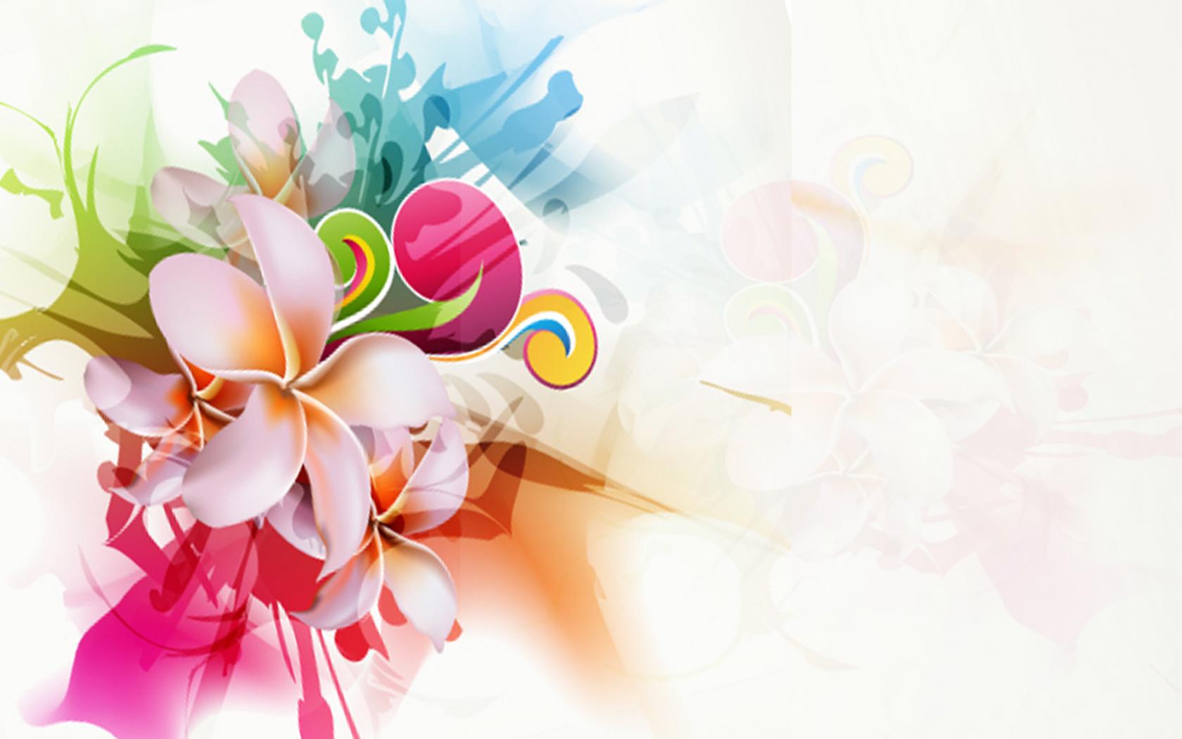 Free Download Modern Floral Wallpaper Design Weddingdressincom