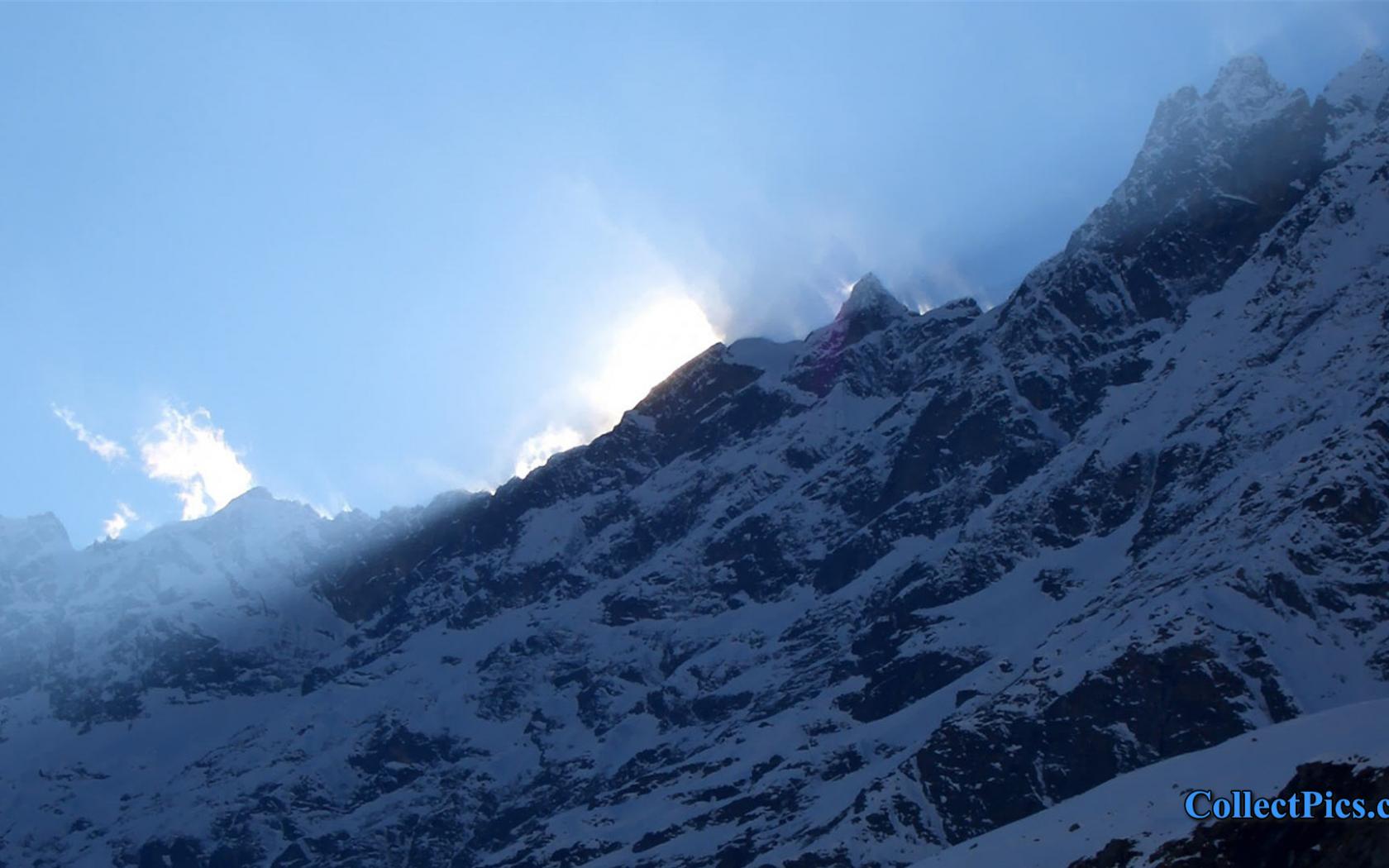 Free Download Mountain Snow 1080p Wallpaper Hd 1920x1080 5890