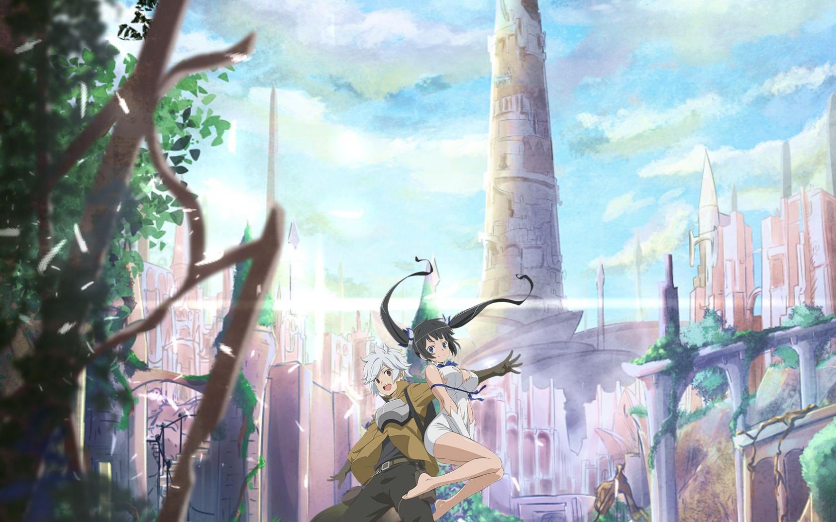 Free Download Danmachi Wallpaper 3 Hotarubi No Mori E Dungeon Ni
