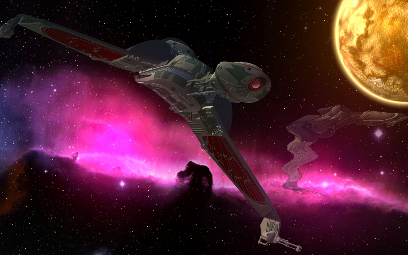 Free Download Series Star Trek Enterprise Picard Klingon Bird Of