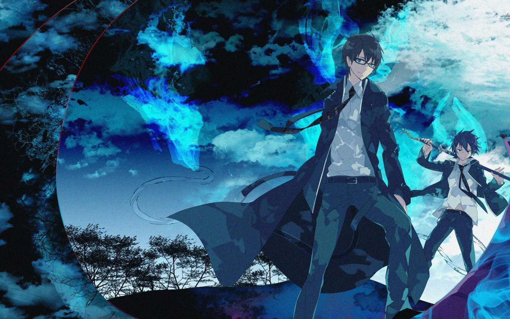 Free Download Blue Anime Wallpapers Hd Wallpapers Backgrounds Of