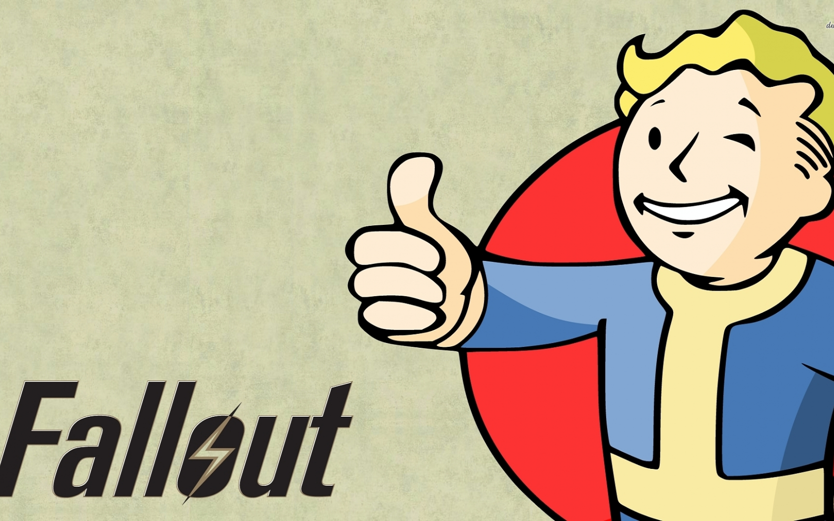 Free Download Vault Boy Fallout Wallpaper 1280x800 Vault Boy