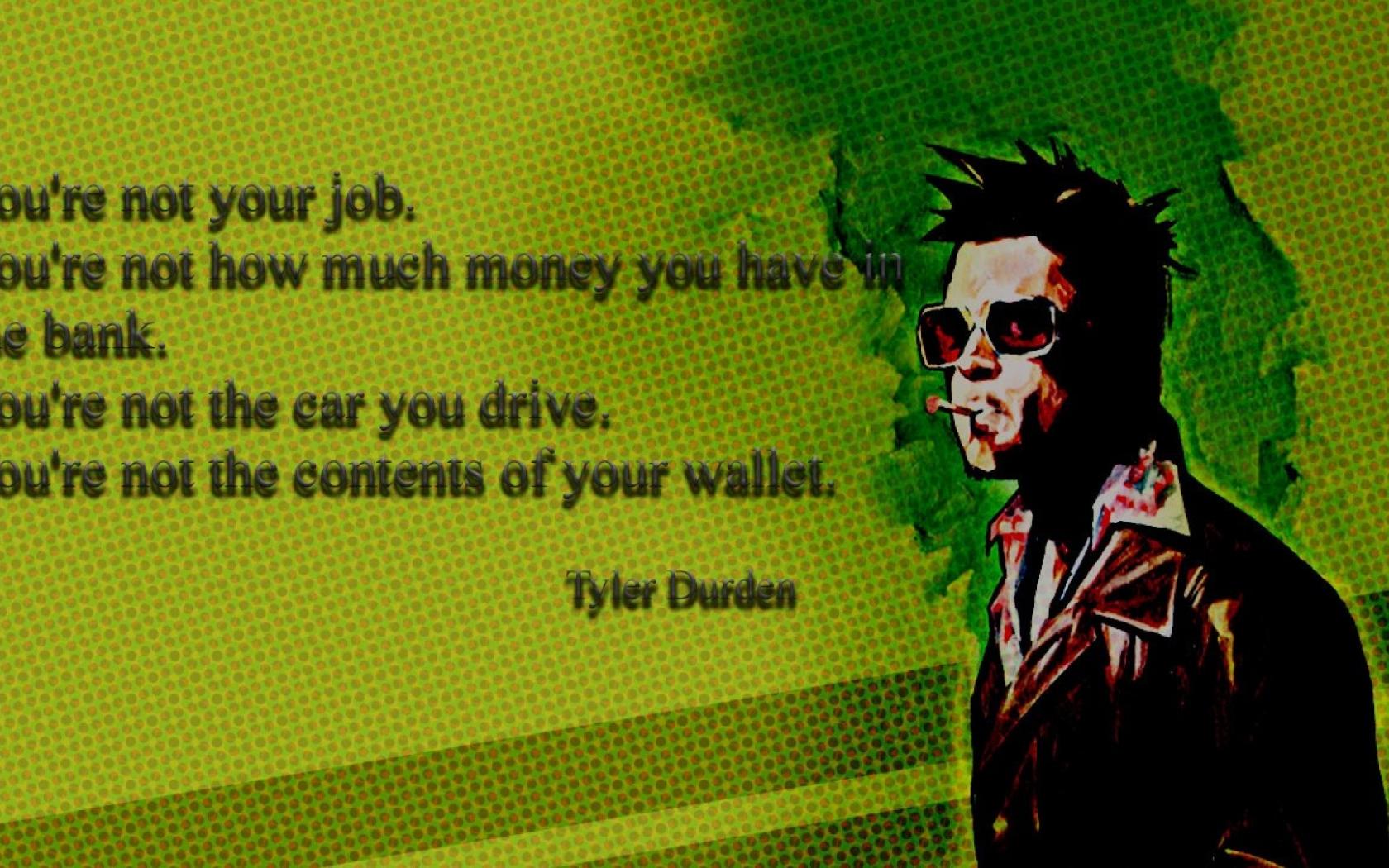 Free Download Wallpaperland Brad Pitt Fight Club Tyler Durden