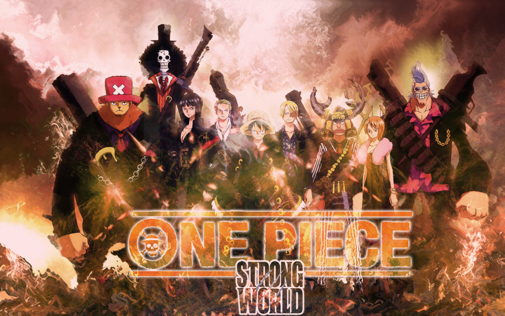 Free Download Wallpaper One Piece Strong World By Ichig0360