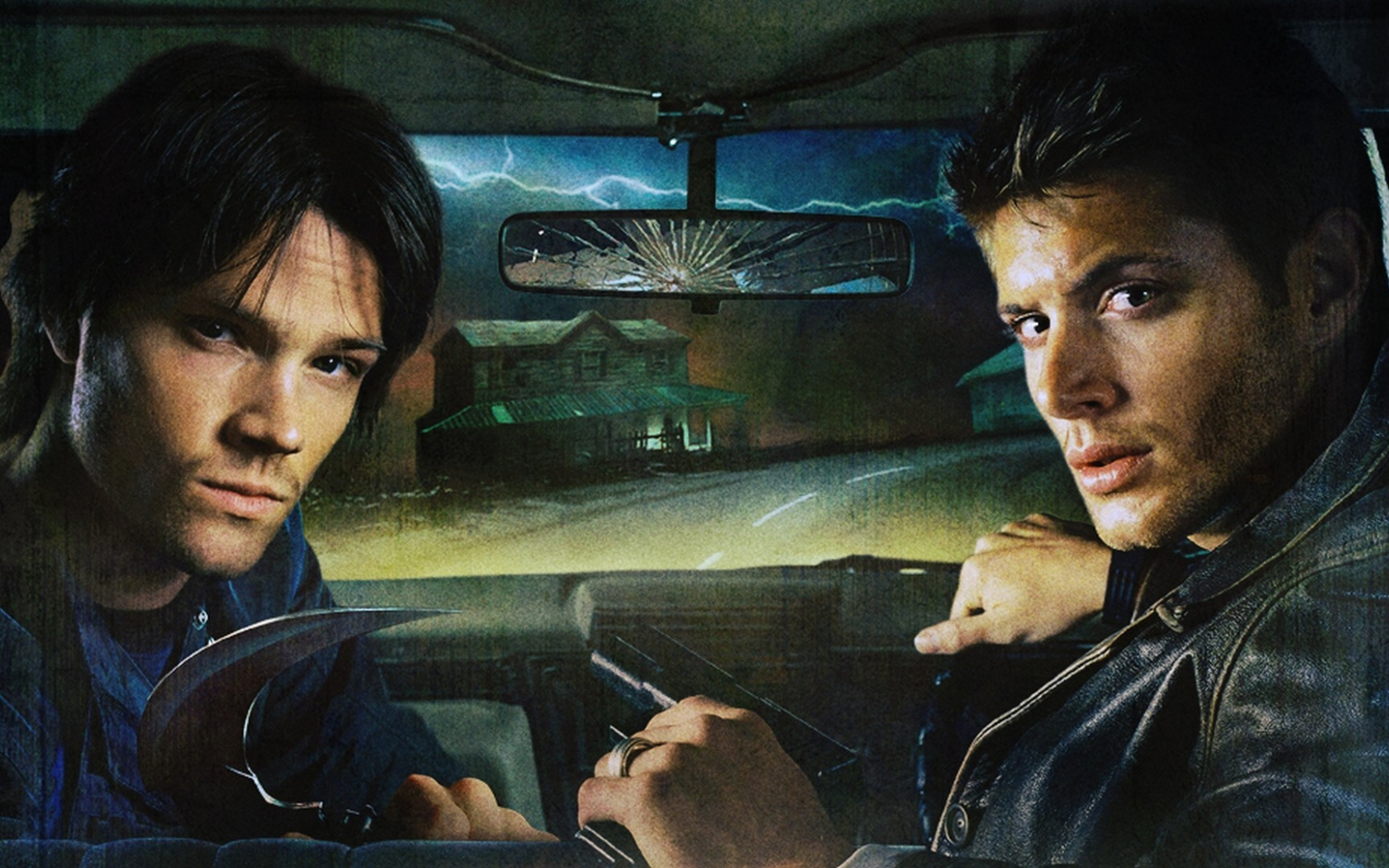 Free Download Sam And Dean Winchester Supernatural Wallpaper