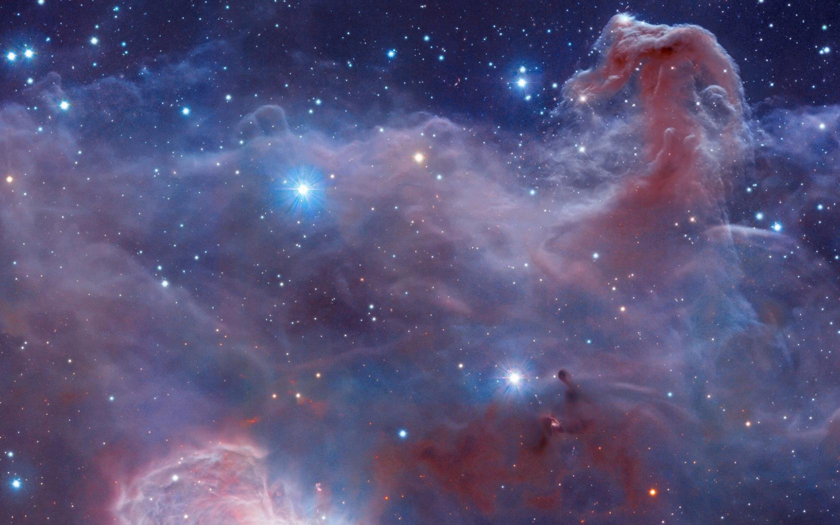 nebula horsehead 4k orion desktop barnard space hubble