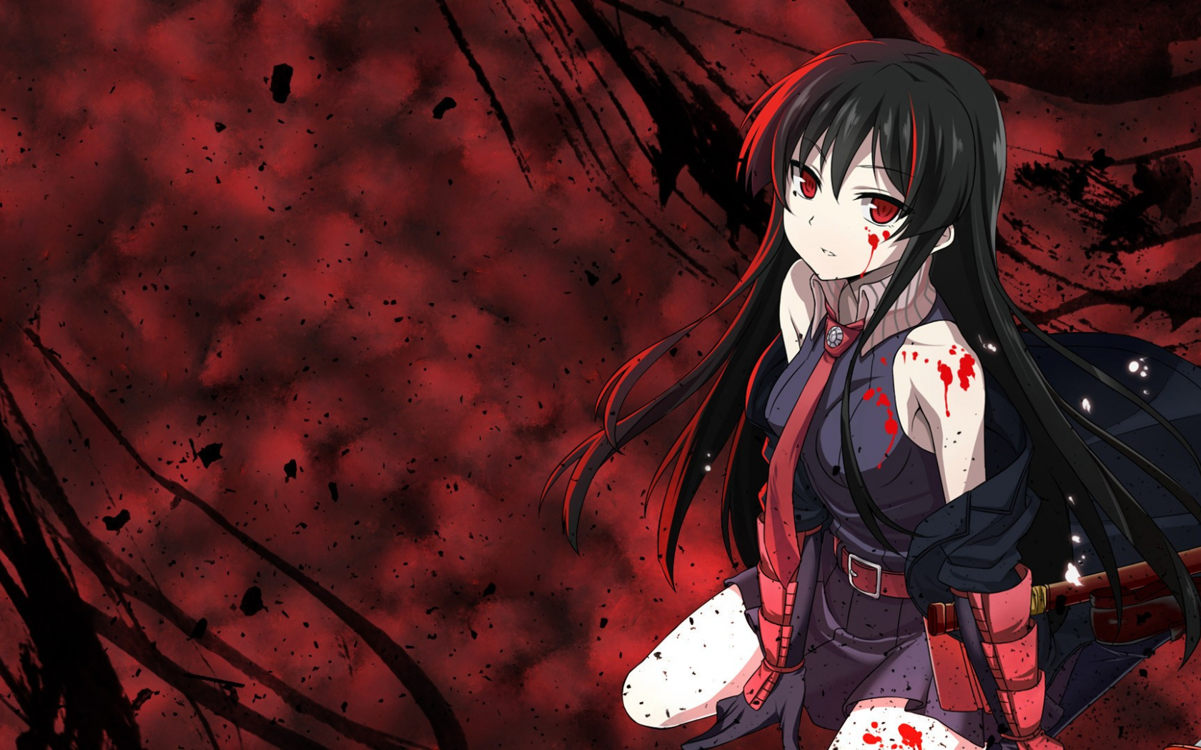 Free Download Anime Girls Akame Ga Kill Akame Wallpaper Anime