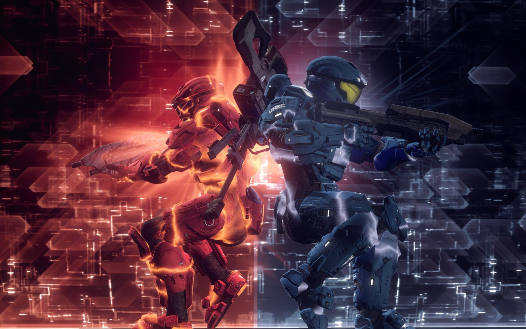 Free Download Red Vs Blue Backgrounds Sf Wallpaper 1920x1080 For