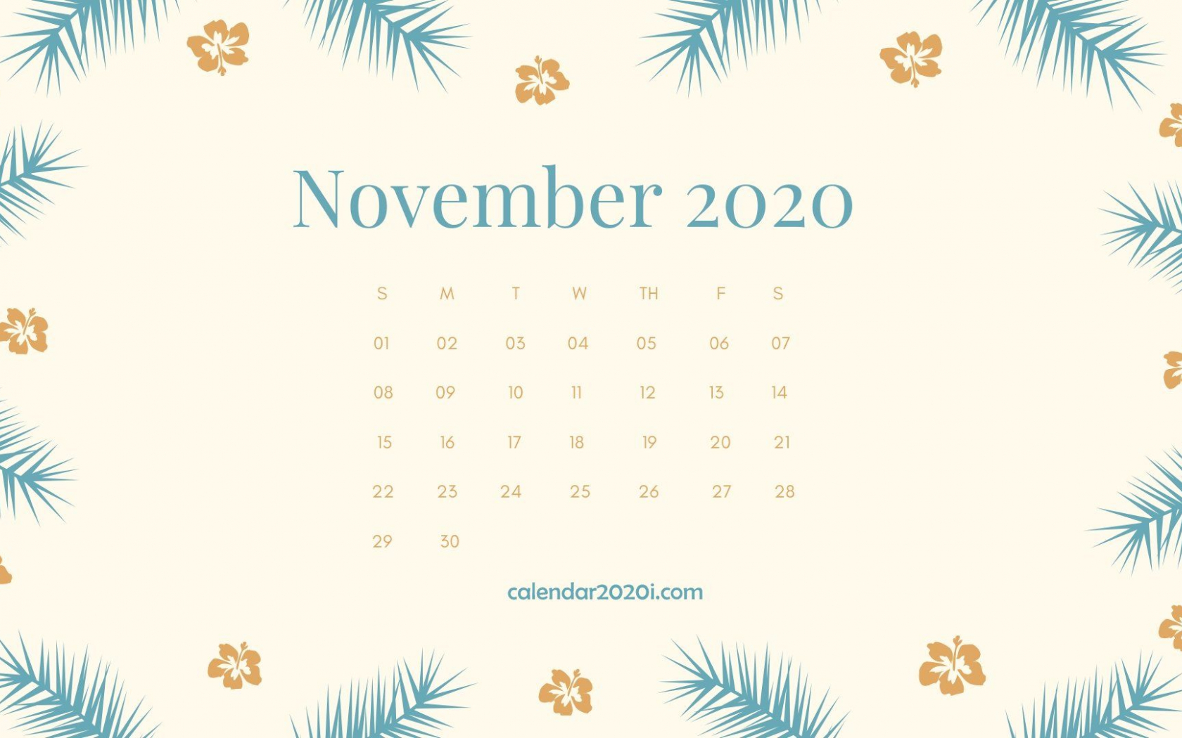 November 2020 Calendar Wallpapers Top ...