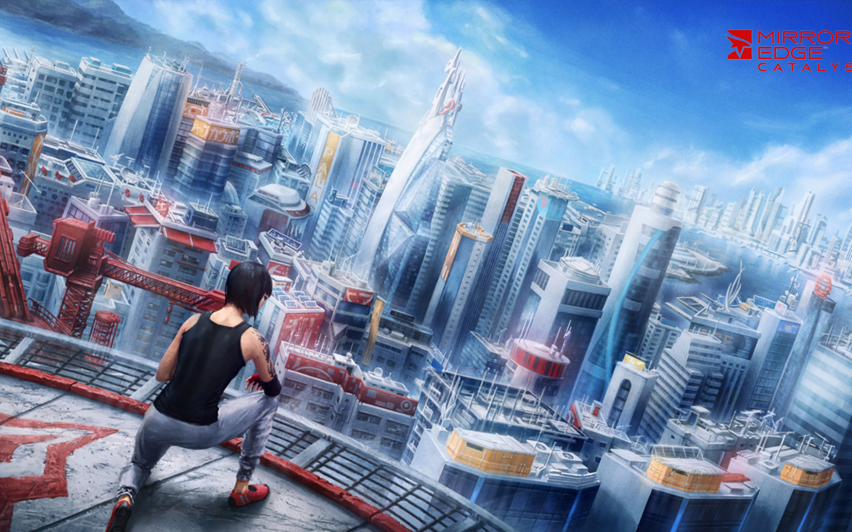 Free Download Mirrors Edge Catalyst Wallpaper In 1920x1080