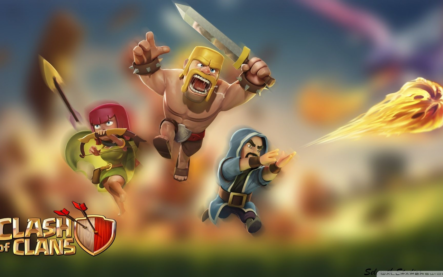 Free Download 60 Wallpaper Hd Android Clash Of Clans Coc Terbaru