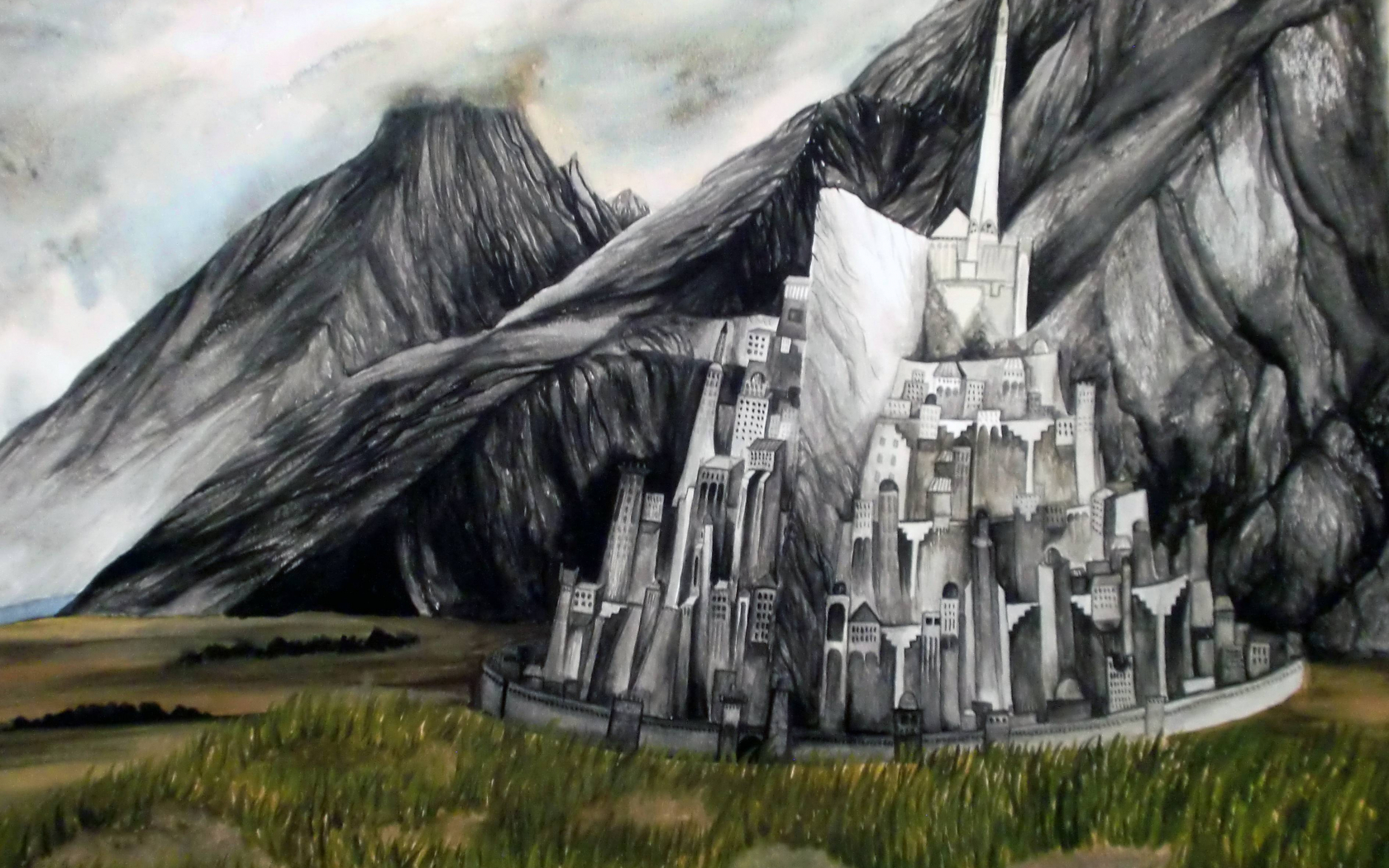 Free Download Minas Tirith Wallpapers 3777x2825 For Your