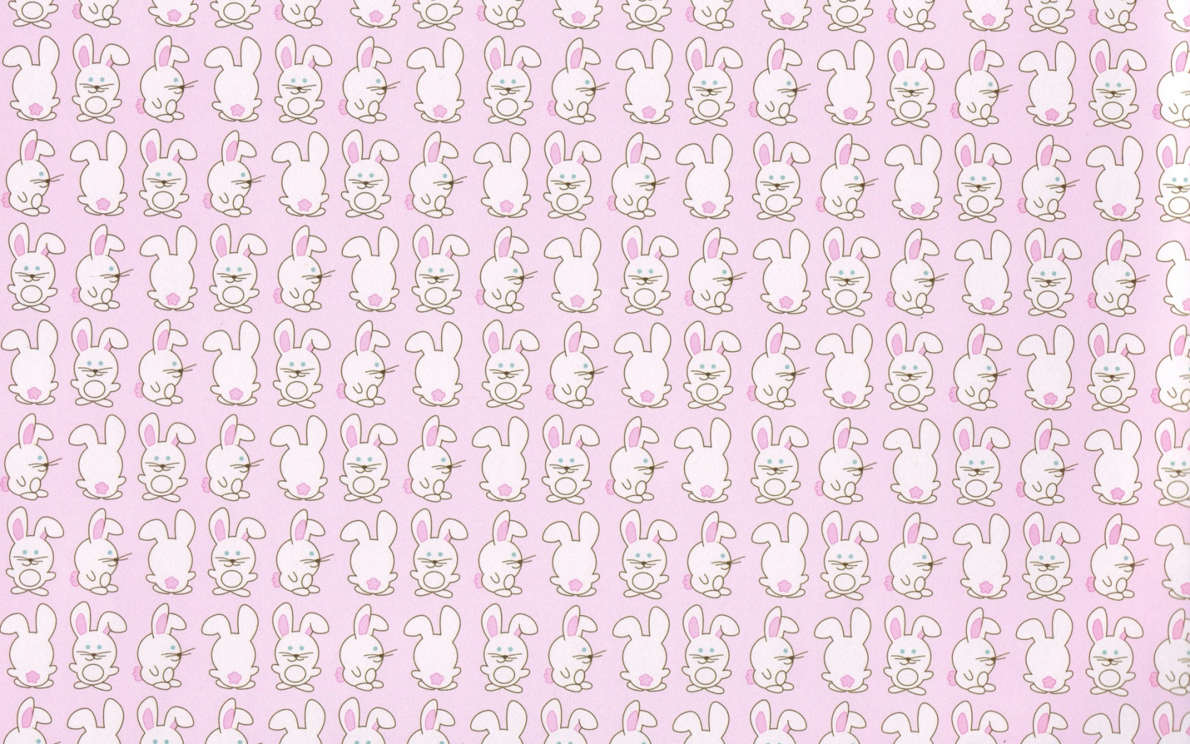 Free Download Bunny Pattern Rabbit Cute Children Wallpaper