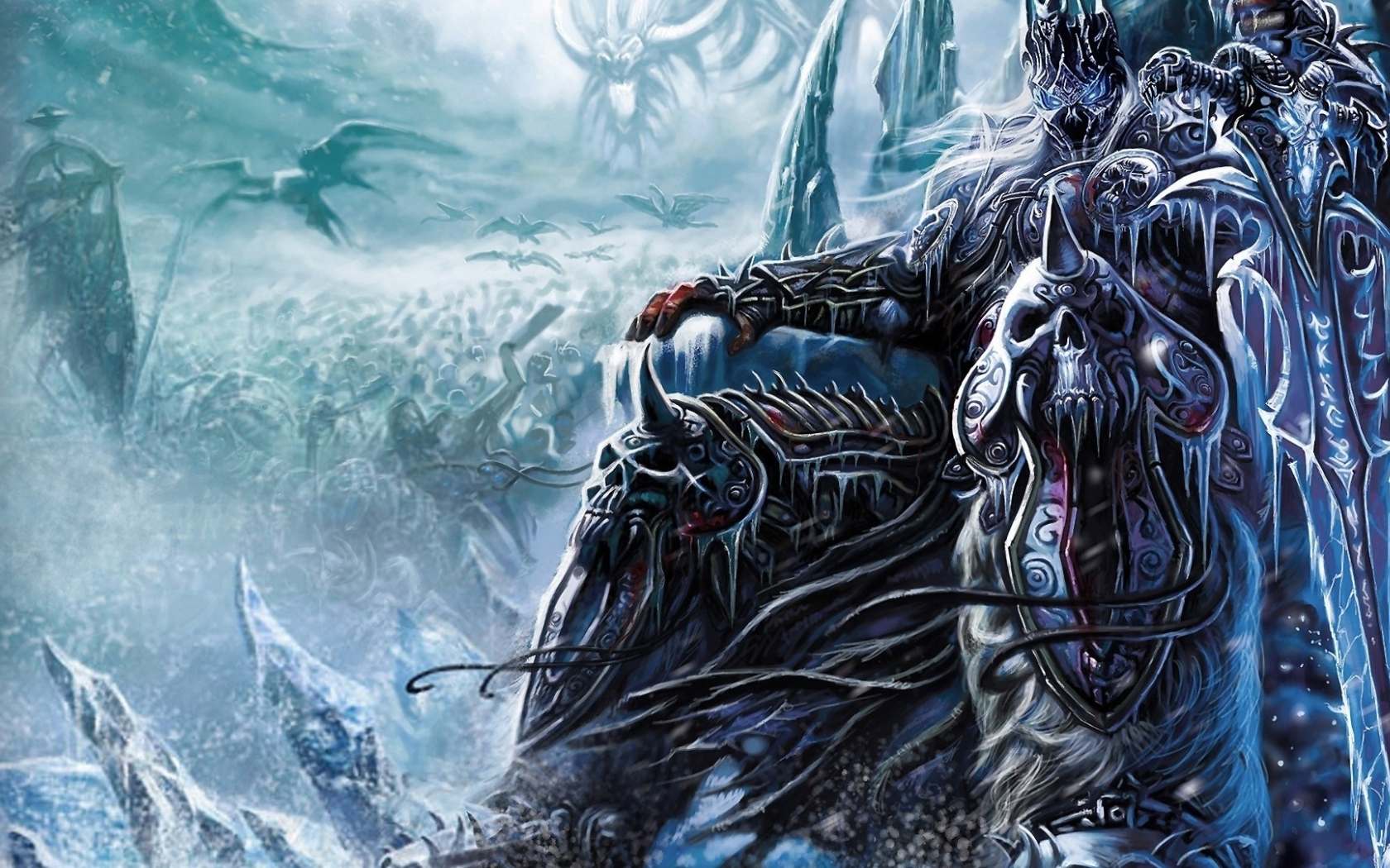 arthas warcraft wallpaper hd