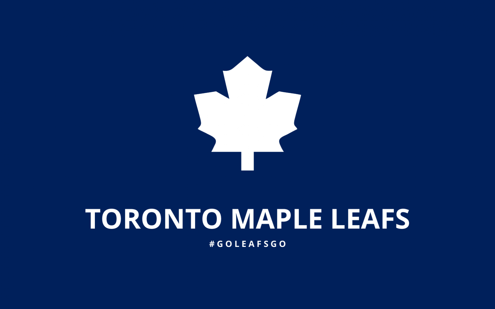 Free Download Minimalist Toronto Maple Leafs Wallpaper By Lfiore