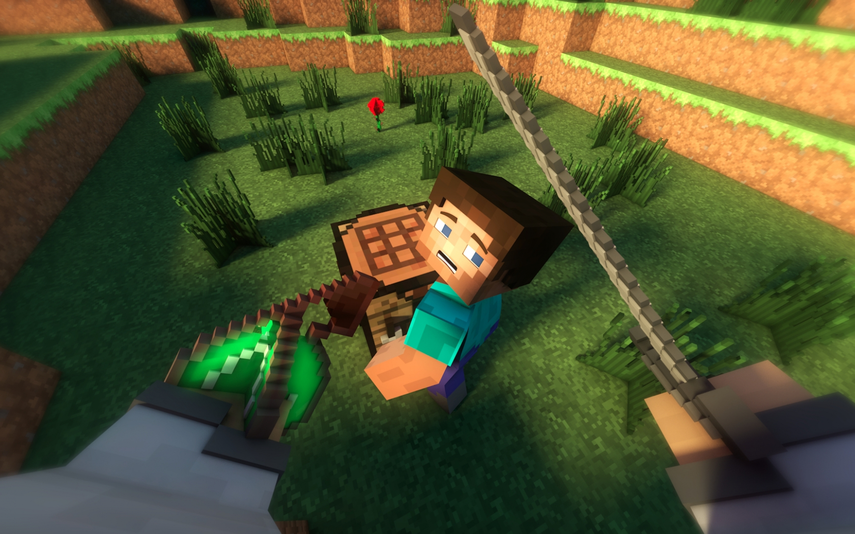 Free Download Wallpaper Minecraft 3d The Steves Kill By Thefennixcreations On 1920x1080 For Your Desktop Mobile Tablet Explore 40 3d Minecraft Wallpapers Minecraft Desktop Wallpaper Hd Minecraft Wallpapers For