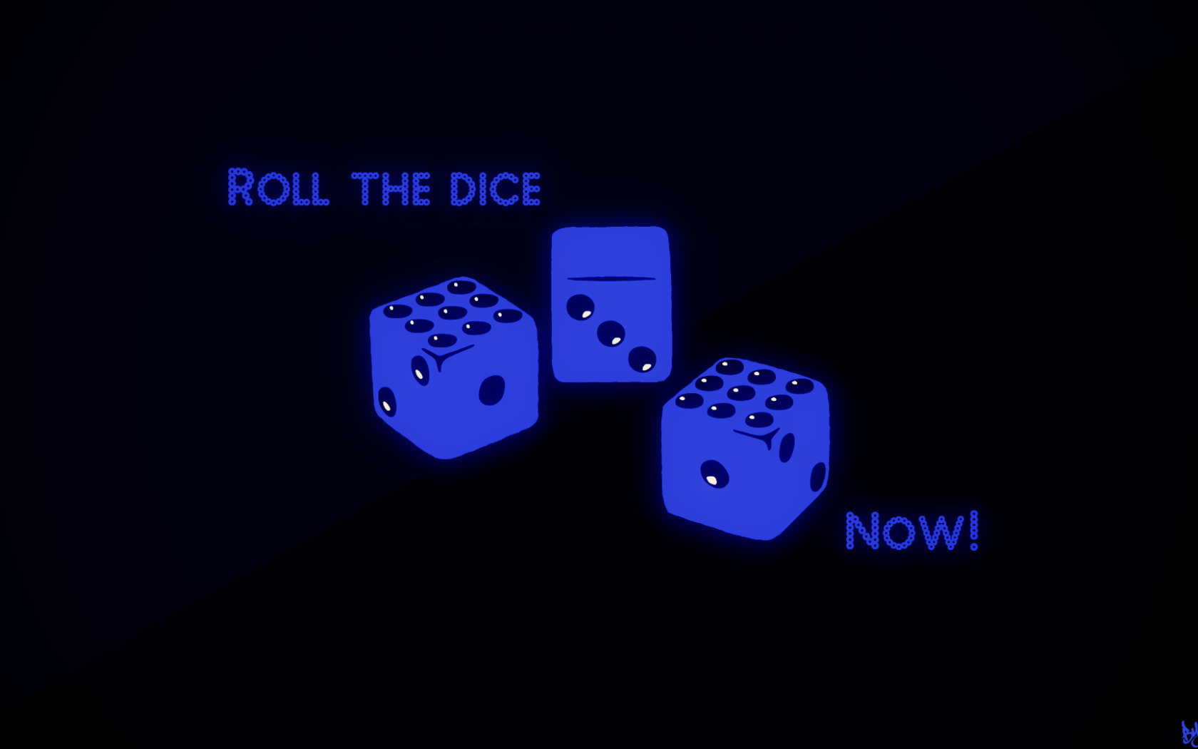 Free Download Roll The Dice Now Wallpaper By Theskyfx 1920x1080