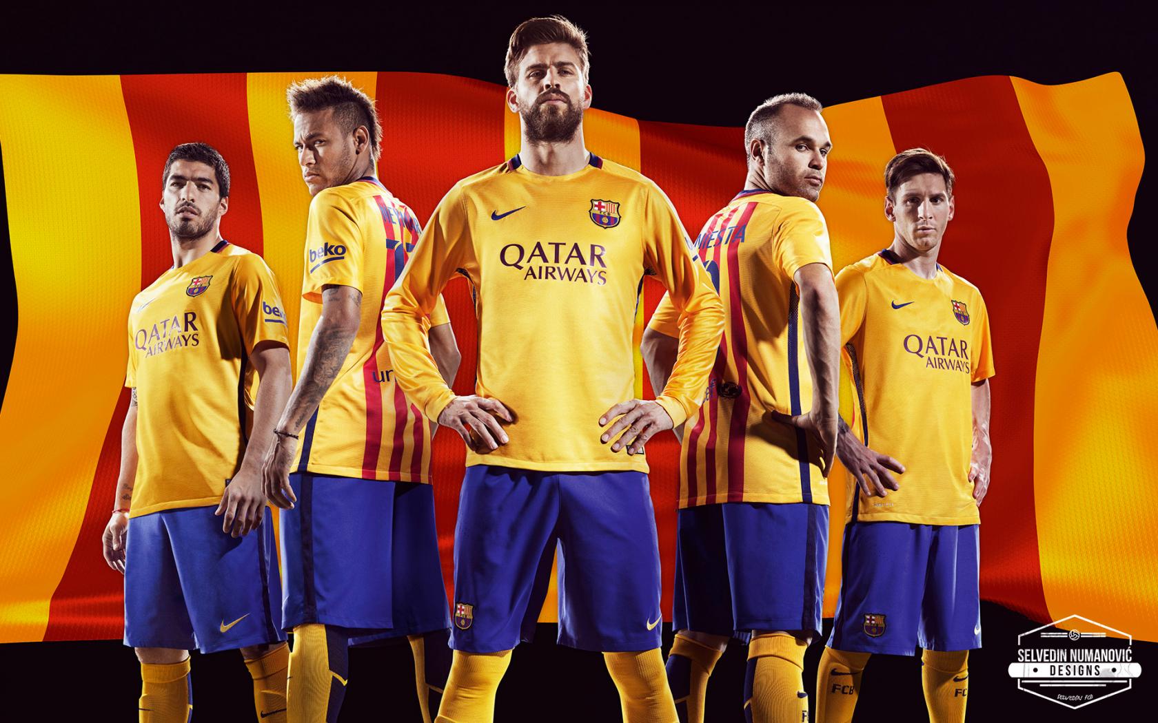 nueva remera de barcelona