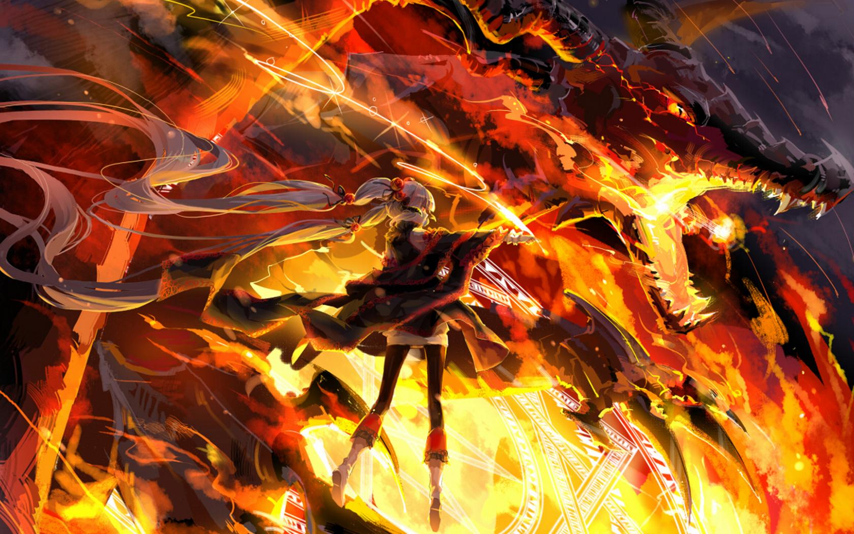 Free Download Cool Fire Dragon Wallpaper Fire Dragon Photos