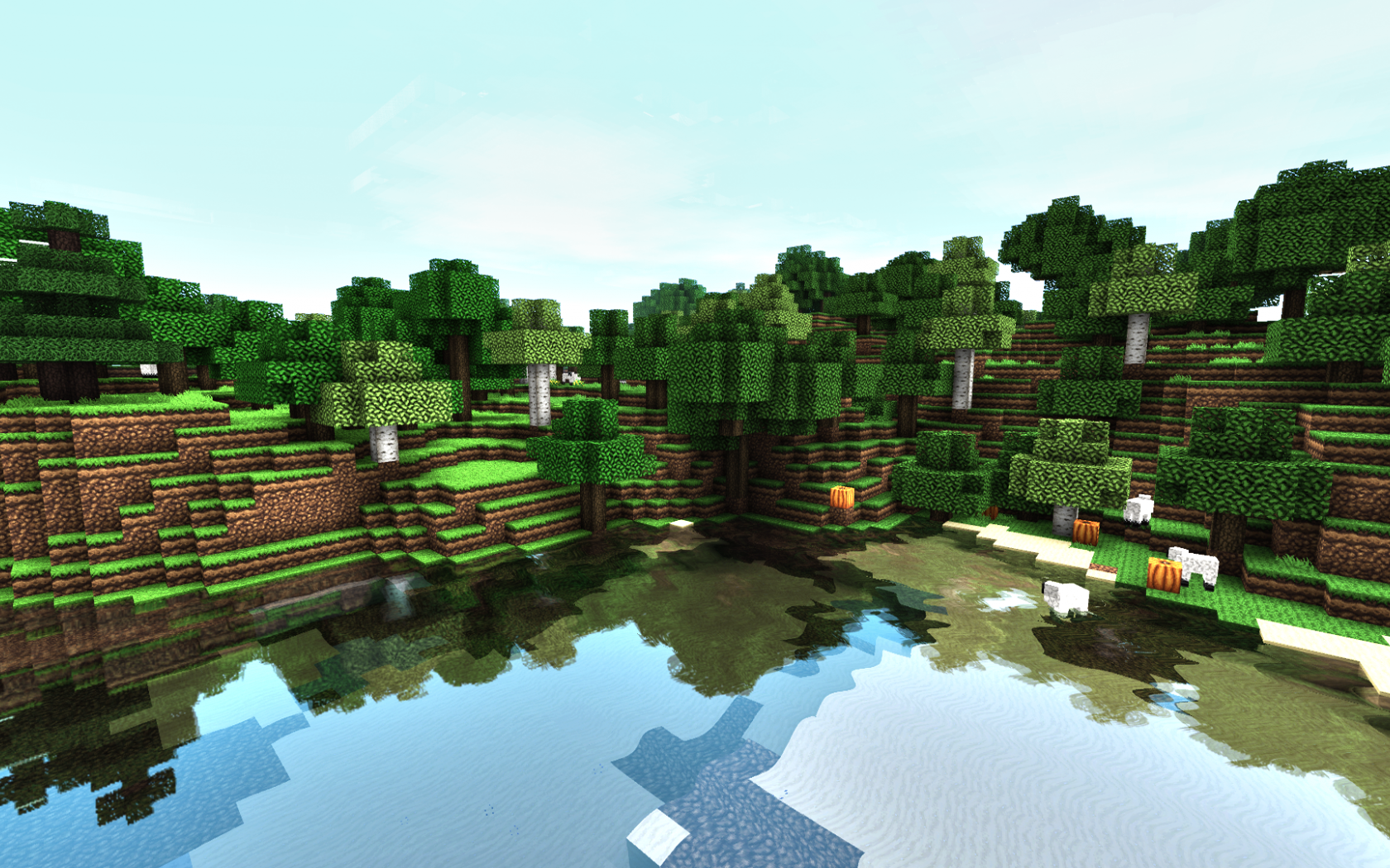 Minecraft Shaders Wallpaper HD You To WallpapersGet Gorgeous Hd Wallpapers 1920x1080