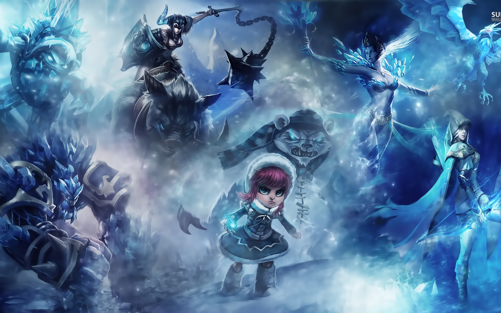 Free Download Gallery For Gt League Of Legends Christmas Wallpaper