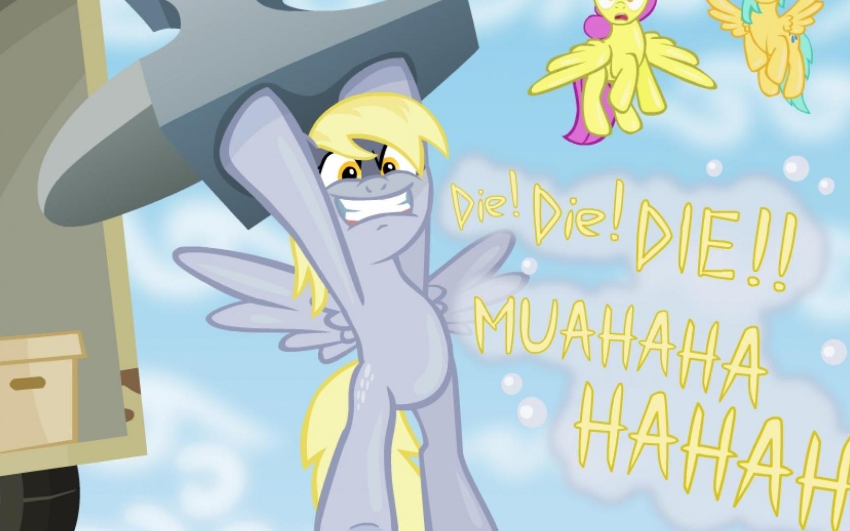 Free Download My Little Pony Derpy Hooves Hd Wallpaper