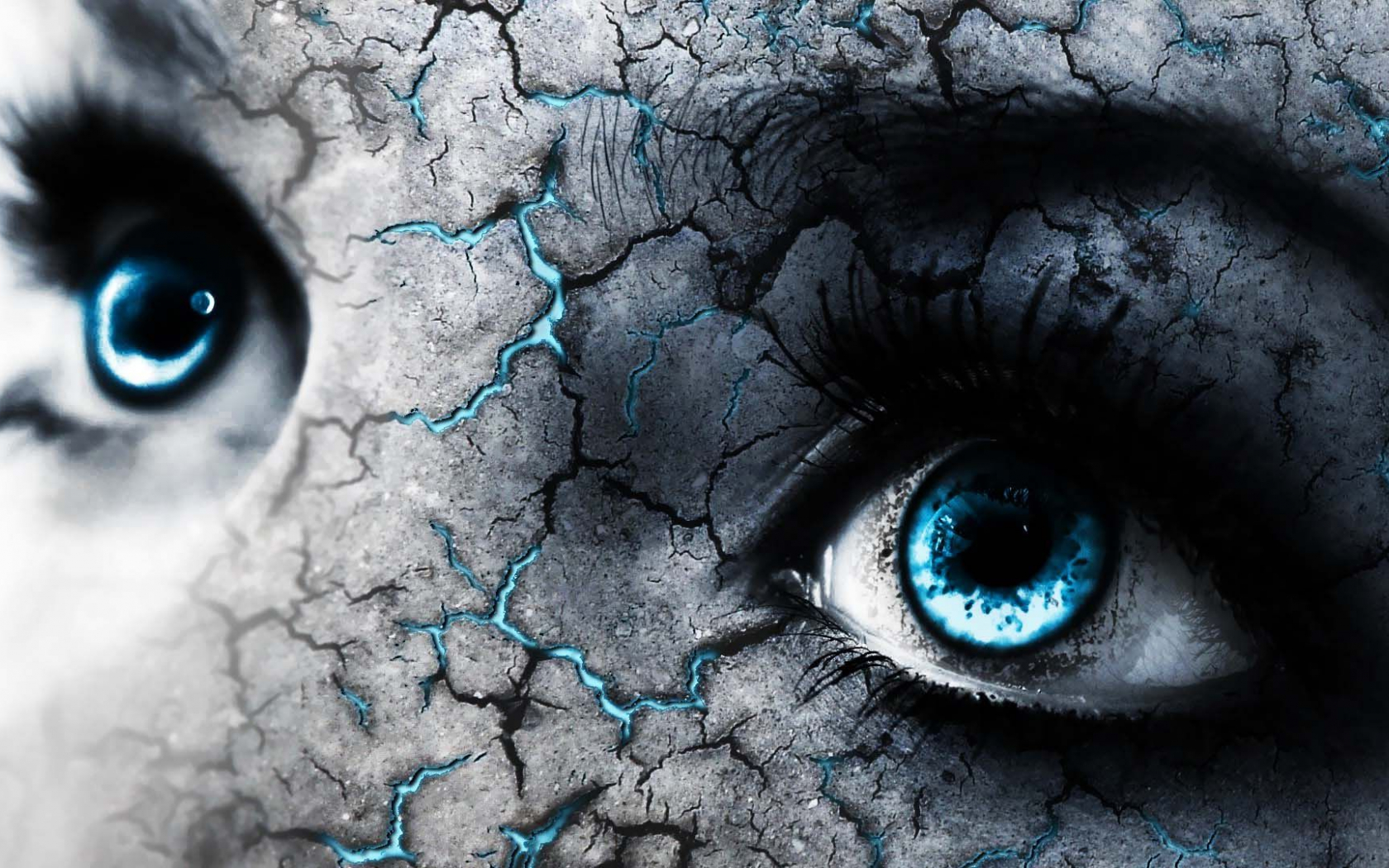 Free Download Blue Eyes And Cracked Skin 4k Wide Ultra Hd Wallpaper Hd 1920x1080 For Your Desktop Mobile Tablet Explore 69 Blue Eye Wallpaper Cute Blue Wallpaper Pretty Blue